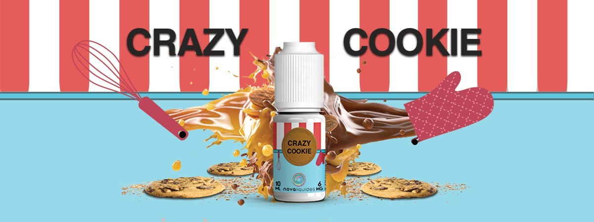 Crazy Cookie Nova Liquide