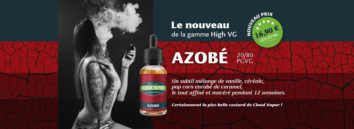 Azobe Cloud Vapor