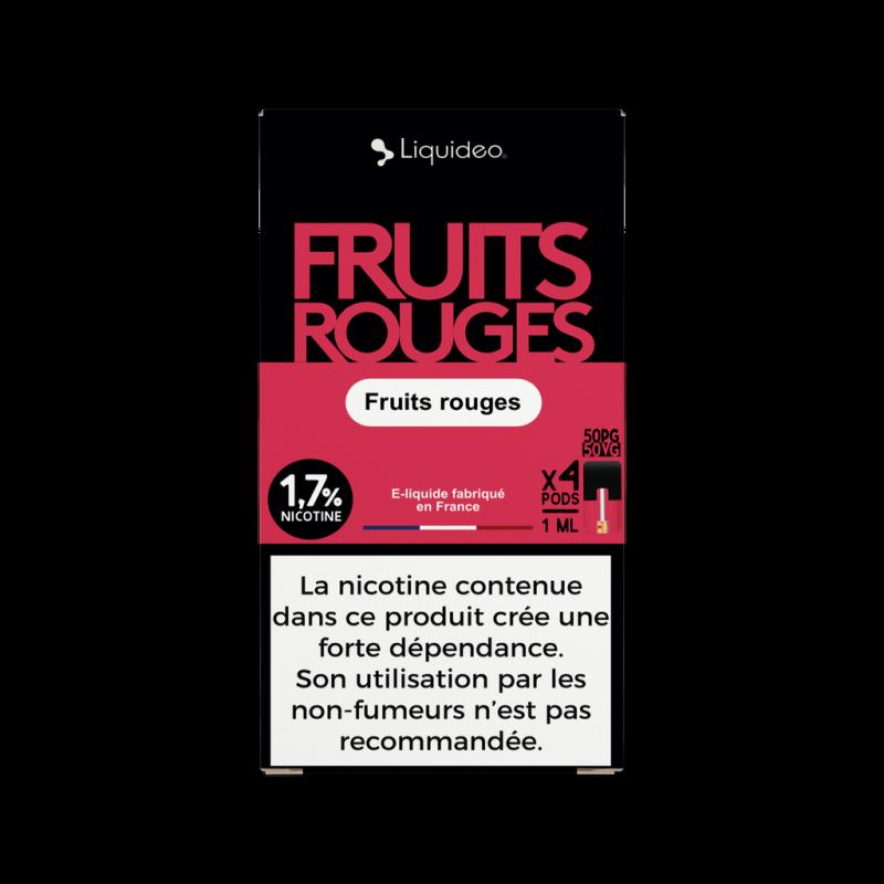 WPod Fruits Rouges Liquidéo